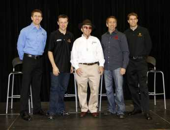 2011 Roush Fenway Racing Team - Photo Credit: Harold Hinson Photography (HHP) for Charlotte Motor Speedway