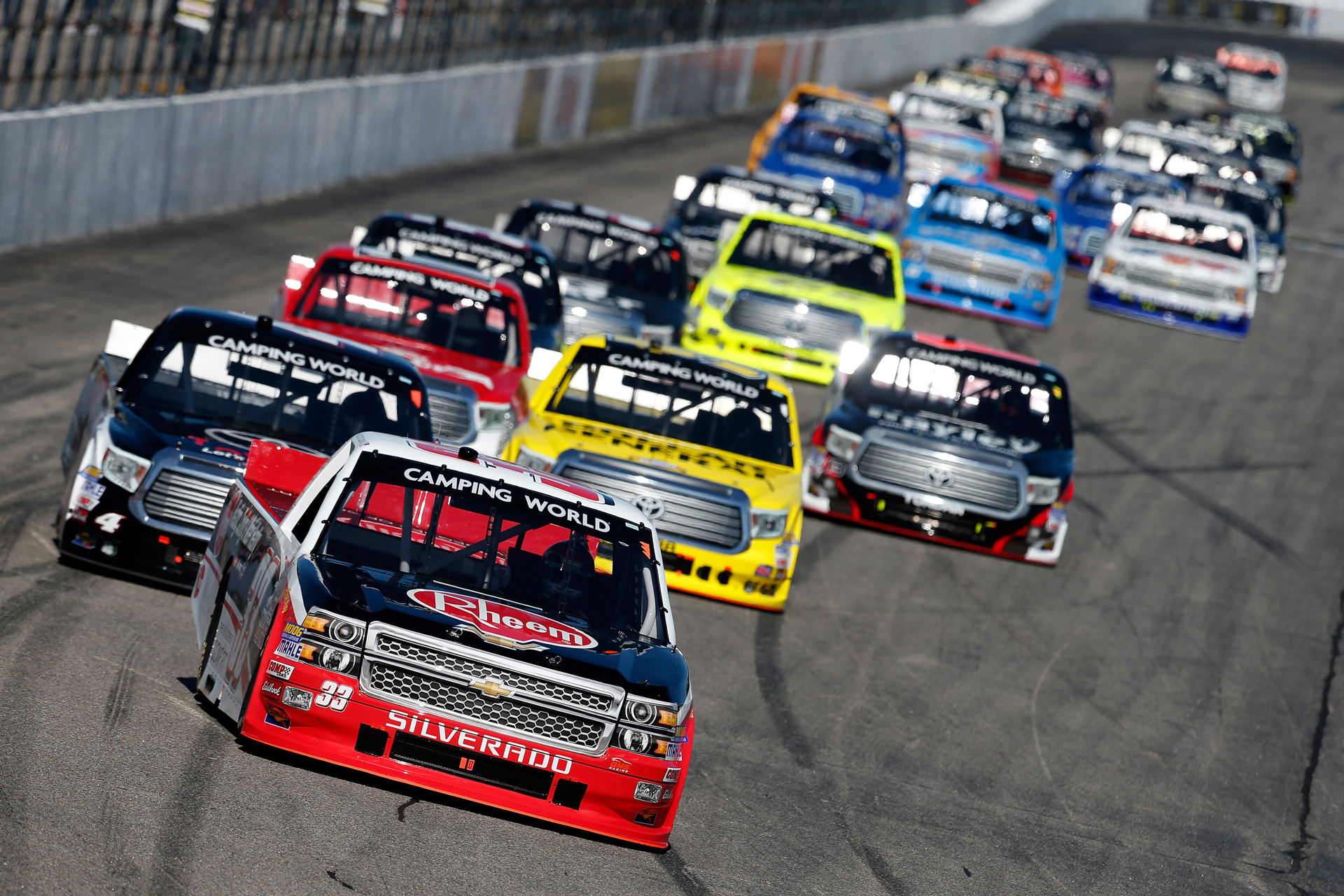 nascar engine spec program on schedule for trucks in may chris